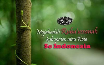 Mujahadah Rubu'ussanah Penyiar Sholawat Wahidiyah kabupaten atau Kota se Indonesia