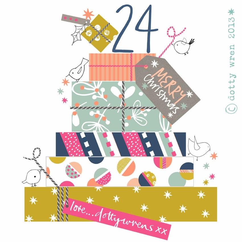 Dottywrenstudio: Advent Calendar....day 24