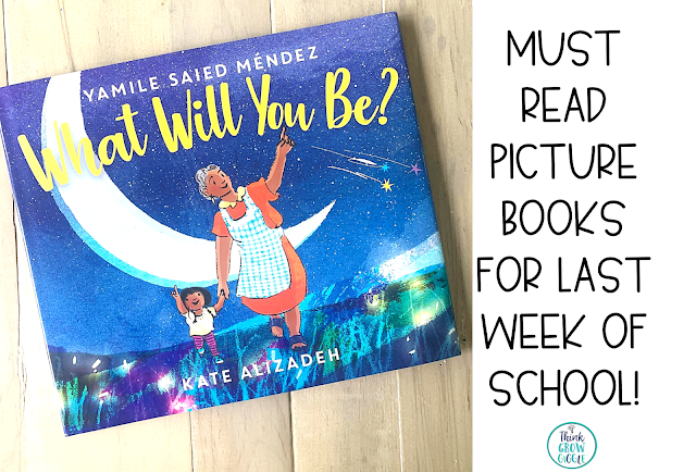 End of year picture books and activities