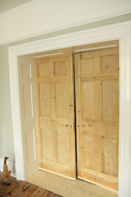Reclaimed Georgian doors