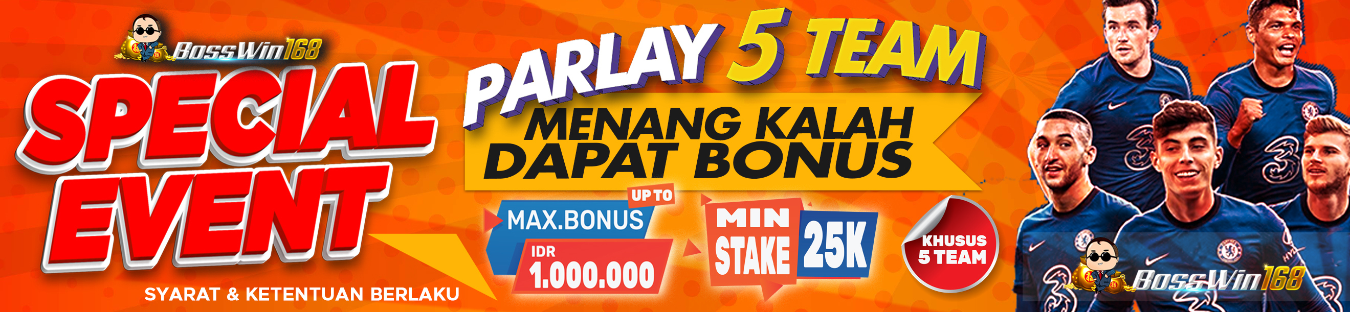 SPECIAL EVENT PARLAY