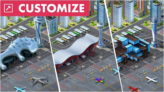 Download Airport City MOD APK 7.10.65 ( MOD Unlimited Money) For Android 2