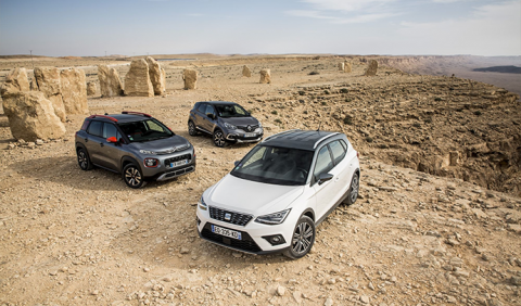 Citroën C3 Aircross VS Renault Captur VS Seat Arona: The battle of urban crossovers
