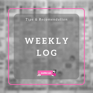 weekly log bullet journal