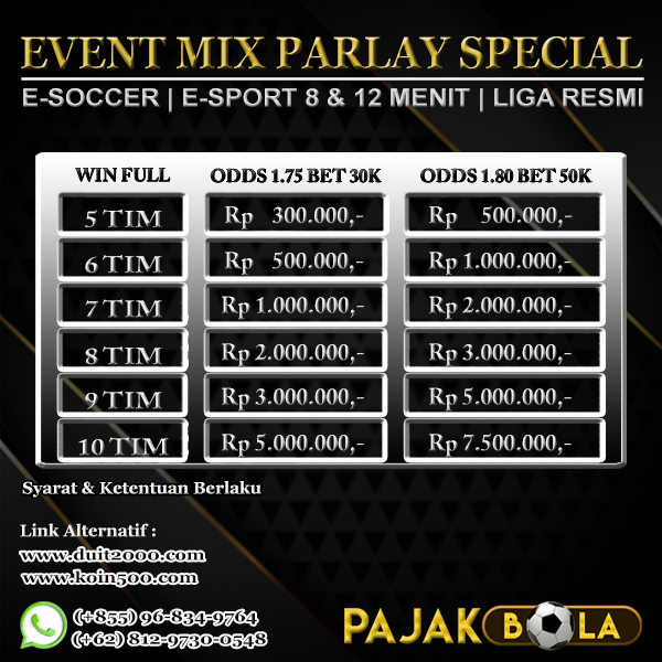 Mix Parlay Special