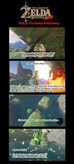 Zelda Breath of the Comic - Part 4 I'm Going Swimming