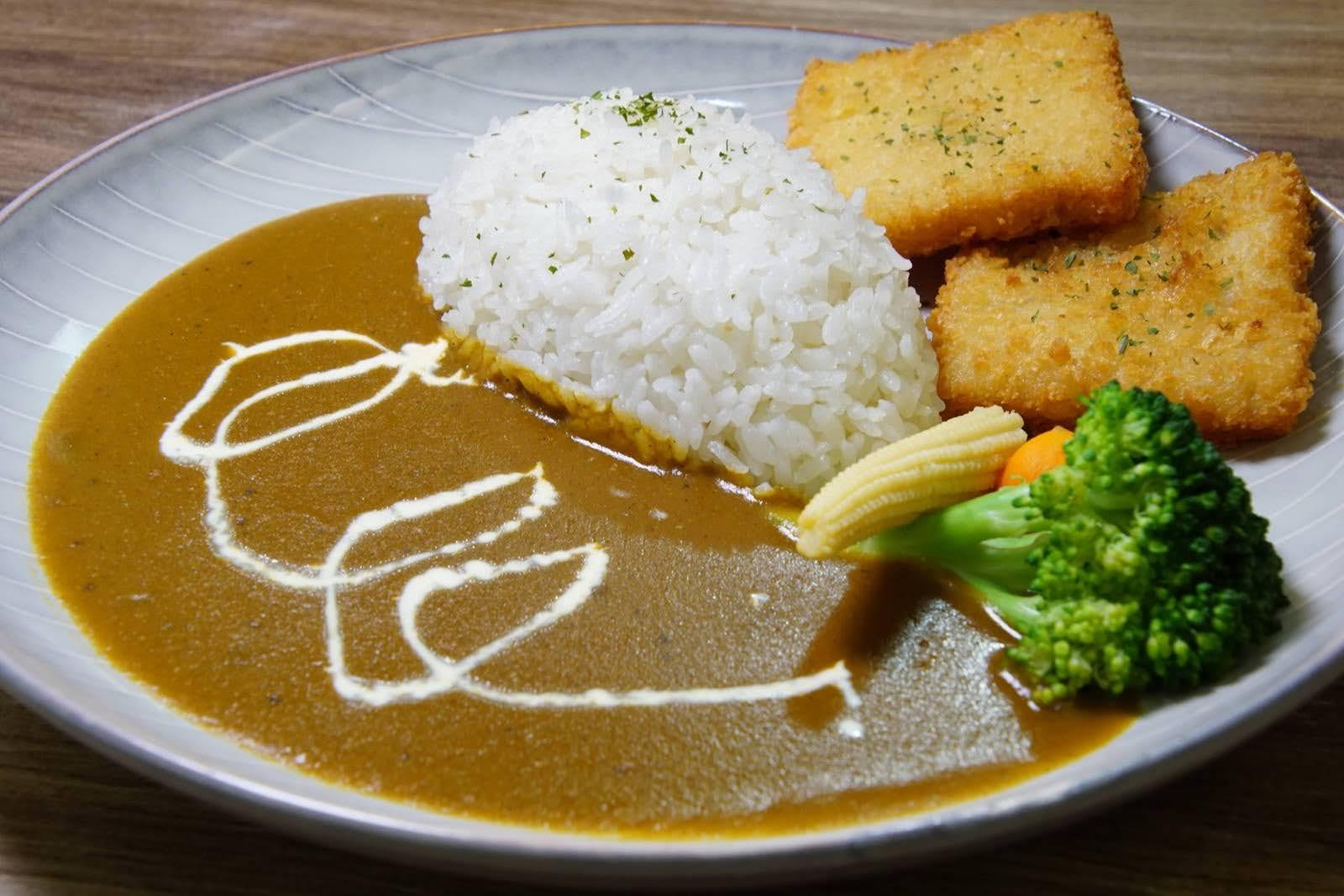[台南][中西區] Hi!咖哩|炸物本舖|水果濃醬咖哩與炸物的絕妙搭配|鍋燒意麵意外地美味|食記