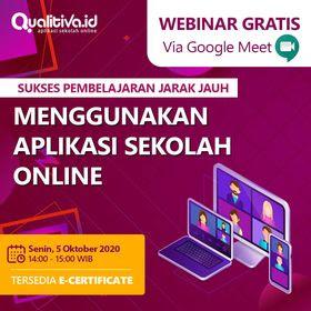 Webinar Qualitiva Tersedia E-Certificate