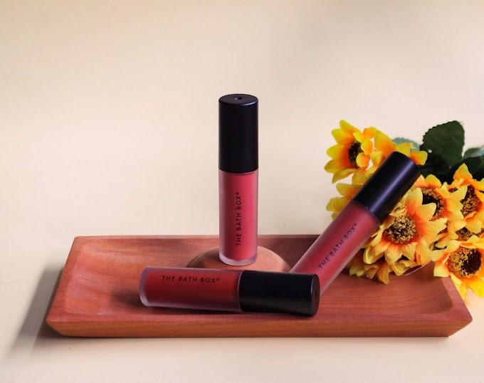 Review The Bath Box Shake Lip Pigment