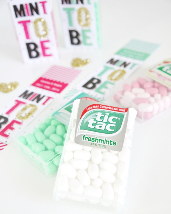 Free Wedding Ideas: Tic Tac® DIY Wedding Favor Idea With Printables