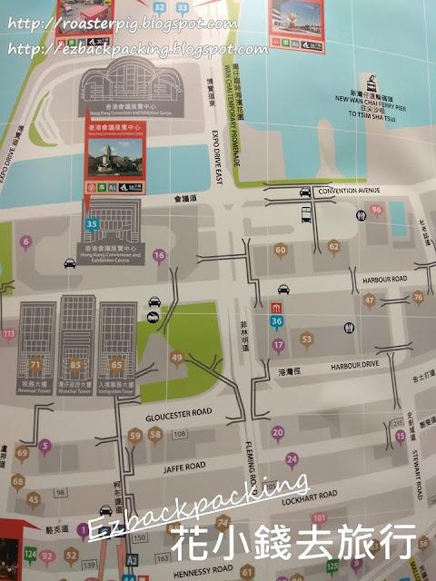 灣仔地鐵站出口地圖