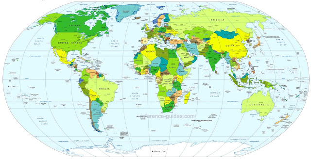 Gambar Peta Dunia globe