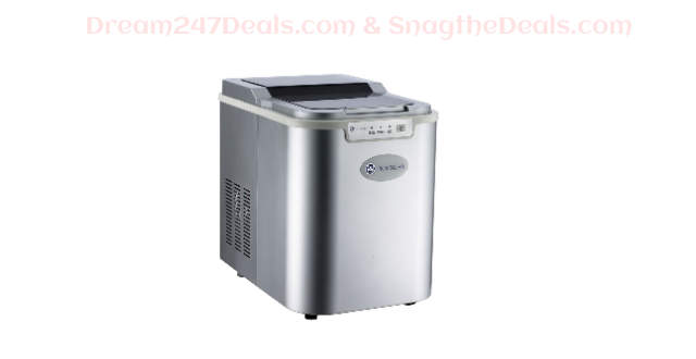 Homegear Pro Countertop Ice Cube Maker / Machine - Produces upto 26lbs Ice A Day
