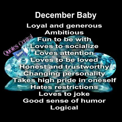Happy December Birthday Quotes
