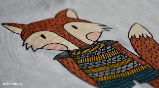 tričko lišák