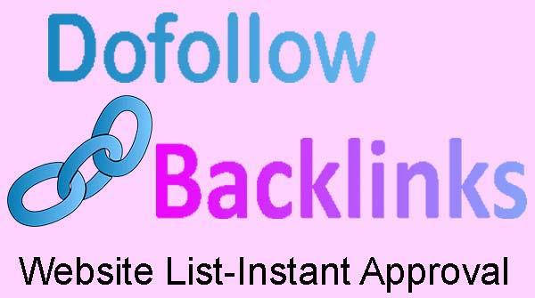 Blog Ke Ranking Ko Badhne Ke Liye Dofollow Backlinks List-instant Approval And Increase Website Traffic