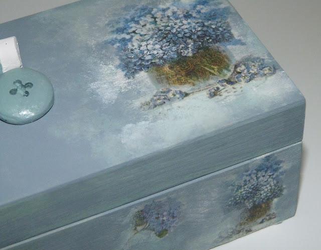 caja de madera-decorada-papel de arroz