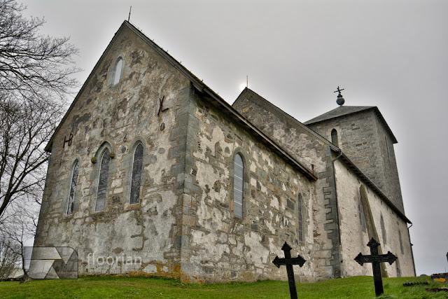 Haugesund, Karmoy - Kościół Św. Olafa (Olavskirken). Atrakcje Norwegii