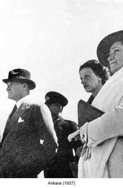 Atatürk Ankara 1937 Fotoğraf