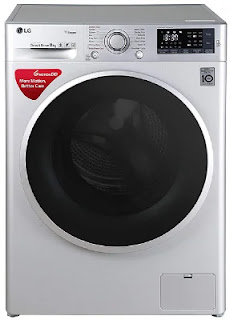 LG 8 Kg Inverter Wi-Fi Fully Automatic Front Load Washing Machine (FHT1408SWL)