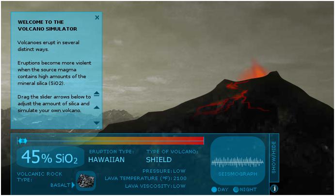 Earth Learning Idea: Volcano simulator