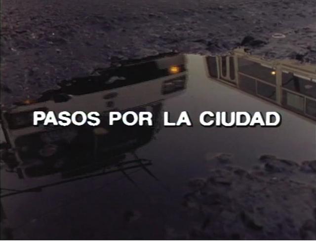 Pasos por la Ciudad nos muestra la Ciudad de México de 1990