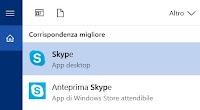 Fermare Skype su PC o chiudere e cancellare l'account Skype