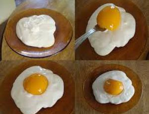 Sobremesa ovo frito