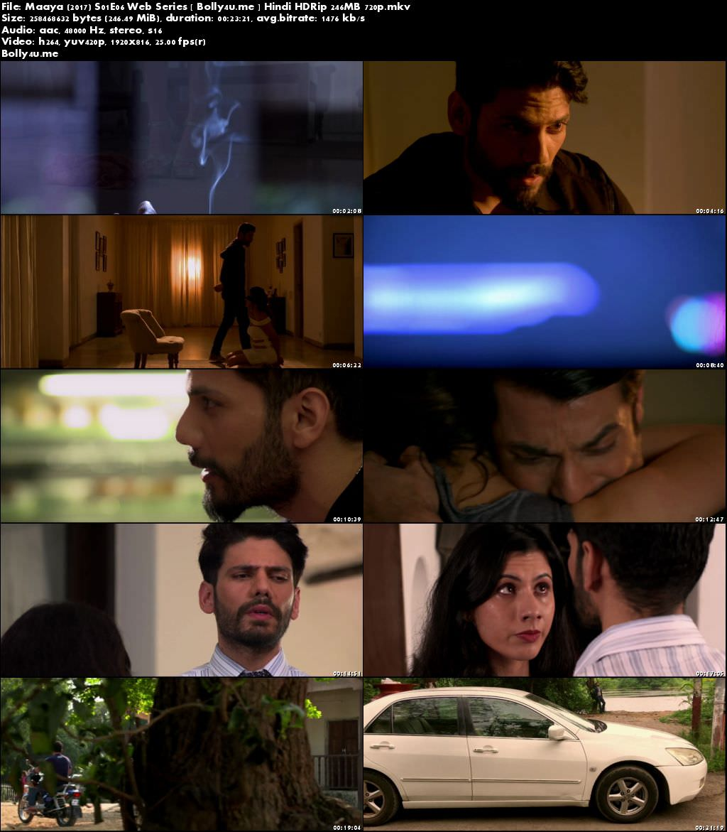 Maaya 2017 S01E06 Web Series HDRip 250MB Hindi 720p Download