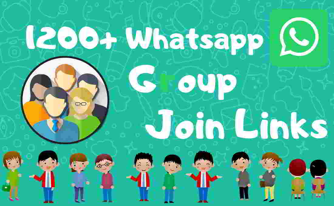 Whatsapp Group Join Links: Manually checked in September