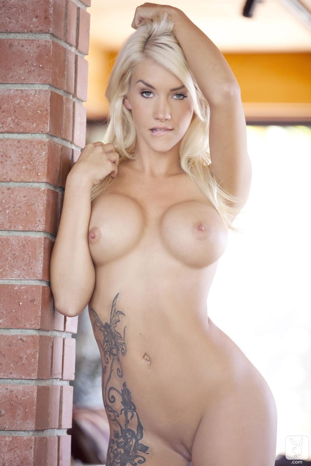 грудастая блондинка с татуировкой плейбоя подорожали земельные