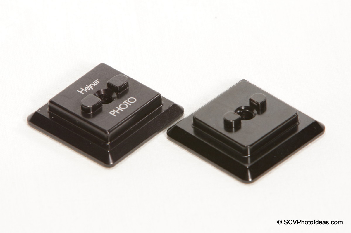 Hejnar PHOTO Clamp Adapter Plate large and small version bosses