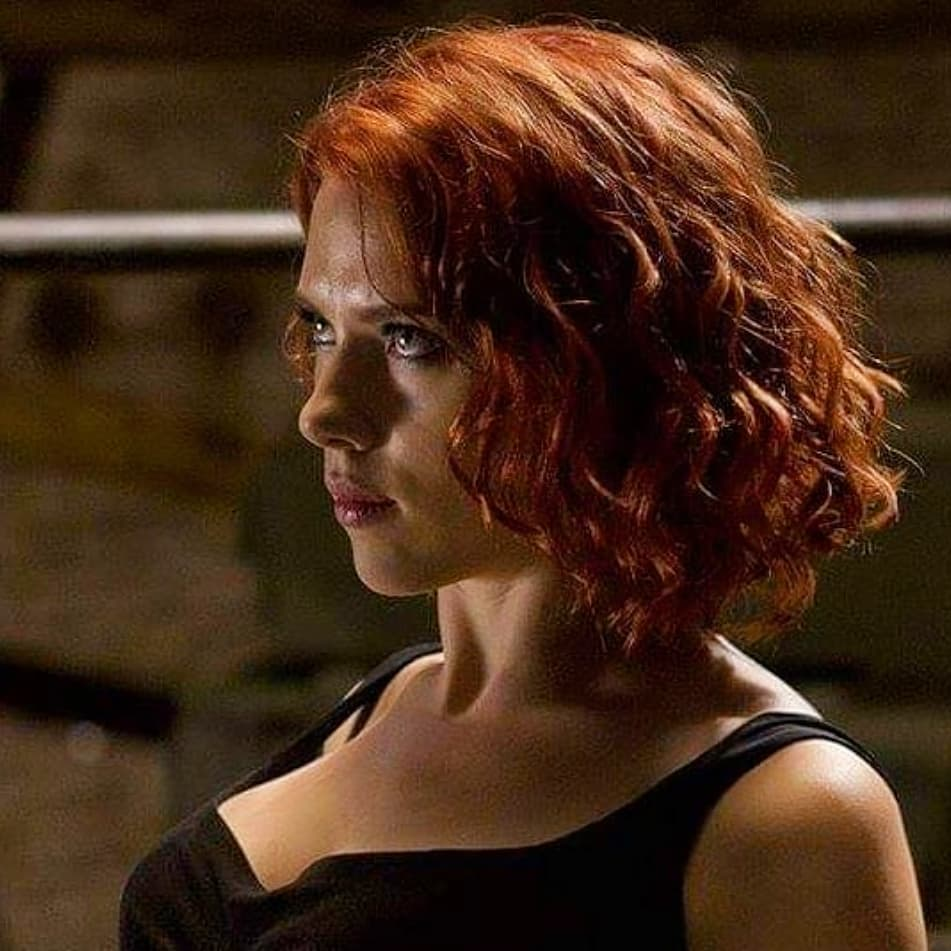 Scarlett Johansson Hot Boobs on Instagram