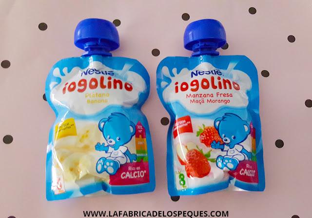 Nuestra experiencia con los nuevos Iogolino, de Nestlé.