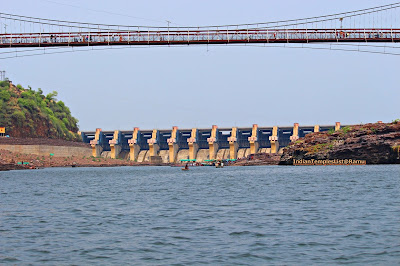 Mamleshwar Setu bridge on river Narmada at Omkareshwar