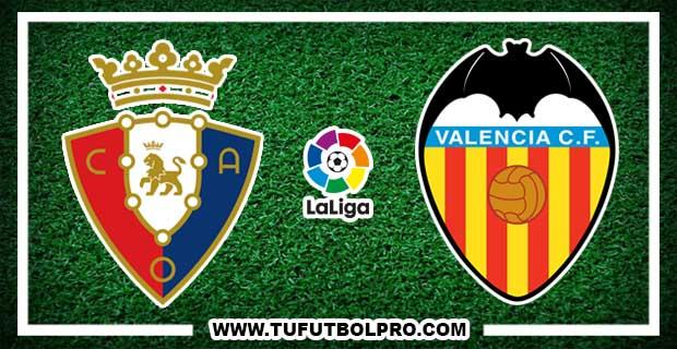 Ver Osasuna vs Valencia EN VIVO Por Internet Hoy 9 de Enero 2017