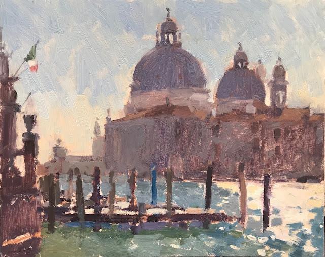 #393 Monet's Spot no.2 8×10″