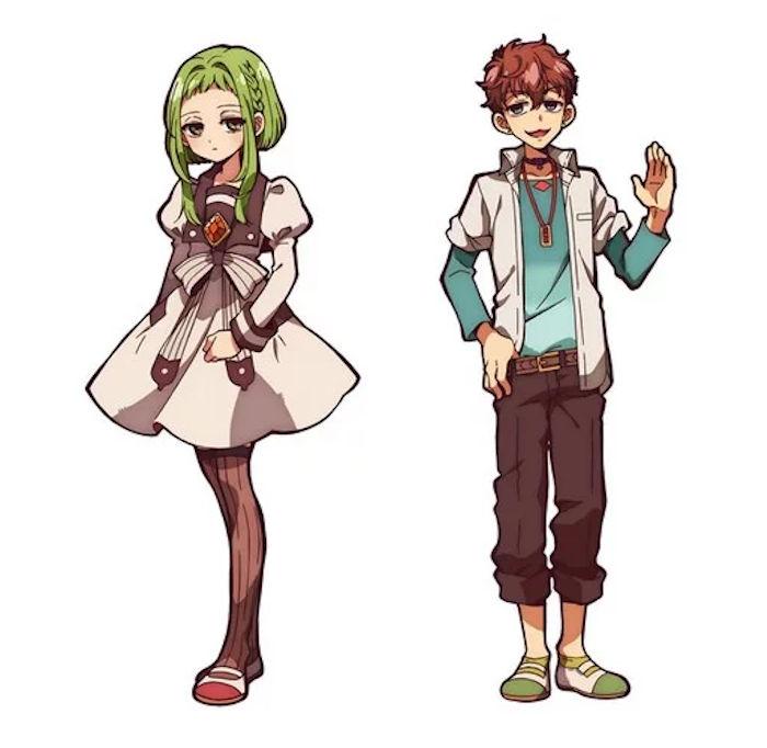 Toilet-Bound Hanako-kun (Jibaku Shounen Hanako-kun) anime - personajes