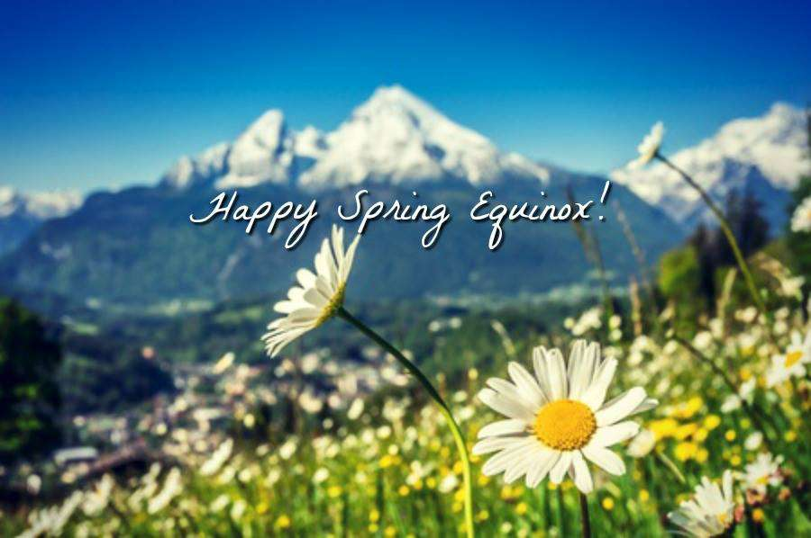 Spring Equinox Wishes Photos