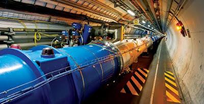 LHC: gran colisionador de hadrones del Cern (Suiza)