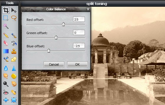 Split Toning Effect