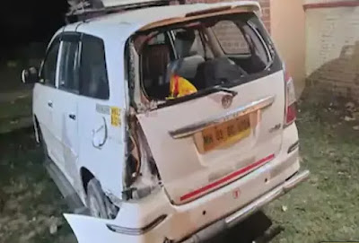 Road-accident-lockdown-4.0-Dumper-crushed-migrant-workers-from-Mumbai-to-Bihar-three-killed-one-injured-8340