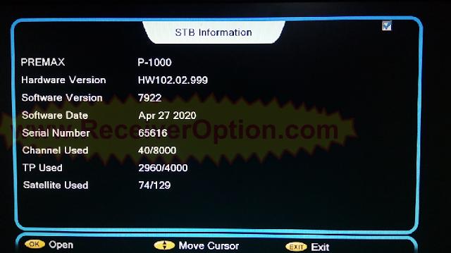 ALI3510C HW102.02.999 NEW SOFTWARE 27 APRIL 2020