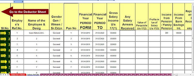 New Format of Revised Income Tax Form 16 Part B