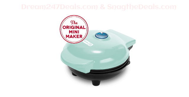 Dash Mini Maker: The Mini Waffle Maker Machine for Individual Waffles,