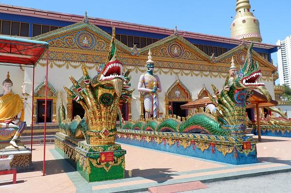 Patung Buddha Wat Chayamangkalaram