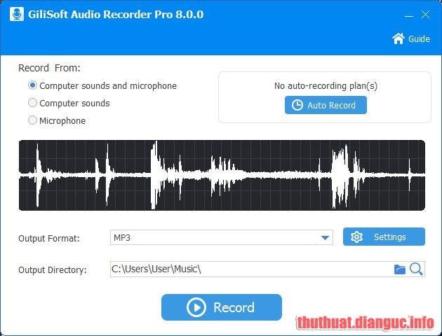 Download Gilisoft Audio Recorder Pro 8.4.0 Full Crack