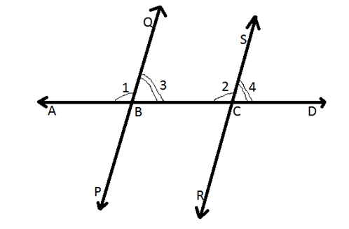 Important Axioms and Theorems: Transversal and Parallel