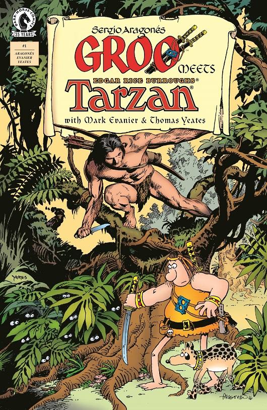 Groo meets Tarzan #1