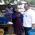 Politisi PAN HM Syafrudin Serahkan Bantuan Cat untuk Tujuh Desa di Soromandi